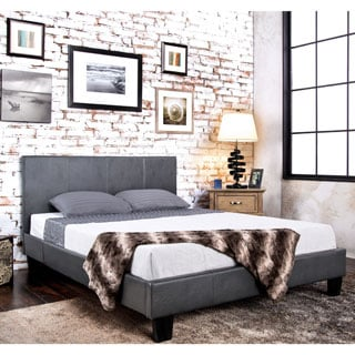 Furniture of America Kutty Queen Padded Leatherette Platform Bed