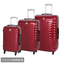 International Traveller 'Vigo' 3-piece Hardside Spinner Luggage Set