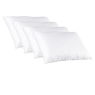 Splendorest Down Alternative 220 Thread Count Cotton Pillows (Set of 4)