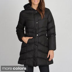 Mackintosh Women&#39;s Hooded Water Resistant Down-filled Coat