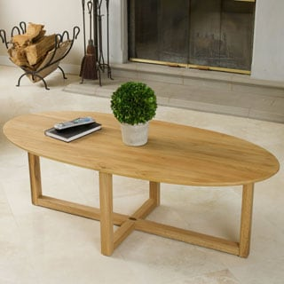 Christopher Knight Home Montego Solid Oak Table