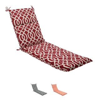Pillow Perfect Outdoor New Geo Chaise Lounge Cushion