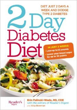 2-day Diabetes Diet: Power Burn Just 2 Days a Week to Drop the Pounds (Hardcover)