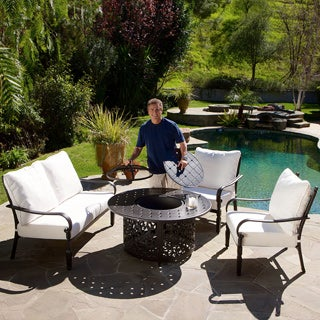 Gatsby 4-piece Firepit Chat Set