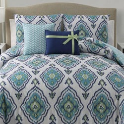 Weston 5-piece Reversible Comforter Set