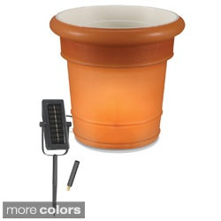 GardenGlo Illuminated Solar Powered Planter
