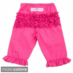 Ruffle Butts Ruffle Cotton Crawler