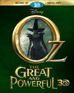 Oz the Great and Powerful 3D (Blu-ray 3D / Blu-ray / DVD)