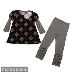 Funkyberry Girls Tunic and Leggings Set