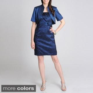 R & M Richards Women's Fashion Jacket Dress