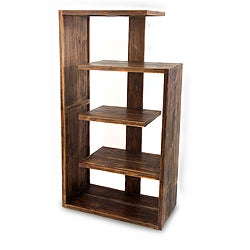 Handcrafted Teakwood 'Menara' Bookcase (Indonesia)