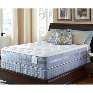 Serta Perfect Sleeper Majestic Retreat Plush Twin-size Mattress and Foundation Set