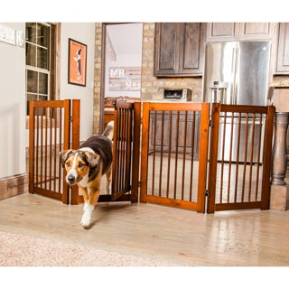 Primetime Petz 360 30-inch Configurable Wooden Pet Gate