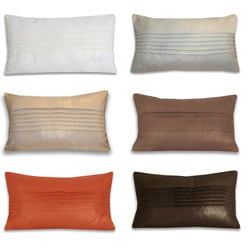 Thro Lori Pleated Pillow (14 x 24)