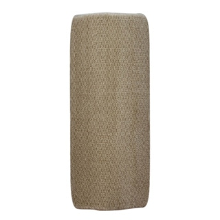 Enliven Textured Linen Beige 22 x 60 Bath Runner
