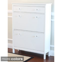 Shoe Cabinet with Storage Drawer