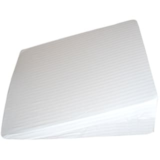 Splendorest Gel Memory Foam Bed Wedge Incline Pillow
