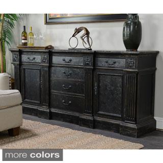 Chael 6-drawer 2-door Black Sideboard