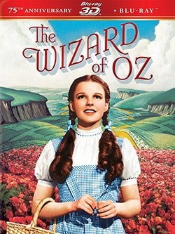 Wizard of Oz: 75th Anniversary 3D (Blu-ray Disc)