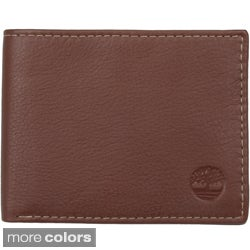 Timberland Men's Genuine Leather Commuter Bi-fold Wallet