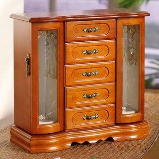 London Collection 2-Door Jewelry Box