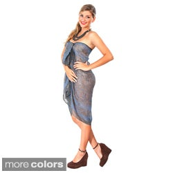 Sheer Cotton Sarong (Indonesia)