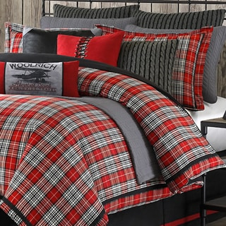 Woolrich 'Williamsport' Plaid 4-piece Comforter Set