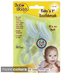 Baby Buddy Baby's 1st Toothbrush (Pack of 2)