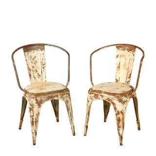 Distressed Bistro Chair
