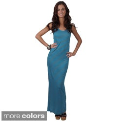 Journee Collection Women's Sleeveless Racerback Maxi Dress