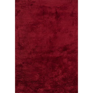 Hand-tufted Ellis Crimson Shag Rug (3'6 x 5'6)