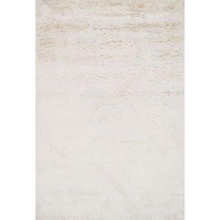 Hand-tufted Ellis Ivory Shag Rug (9'3 x 13)