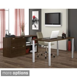 Bestar Contempo Executive Desk Kit