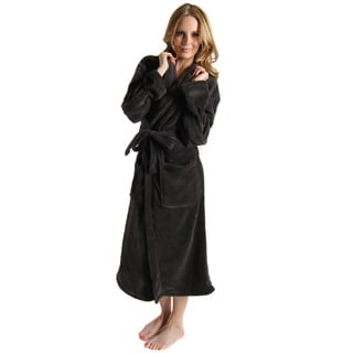 Charcoal Grey Women's Signature Plush Marshmallow Bathrobe