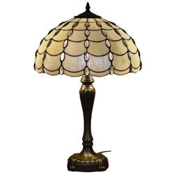 Amora Lighting Tiffany Style Cascades Table Lamp