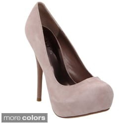 Pleaser Day & Night Women's 'Gorgeous-20' Suede Platform Pumps
