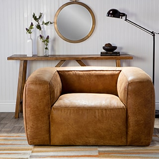Diva Outback Bridle Leather Chair