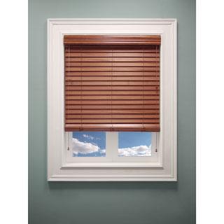 Chicology 'Blaze' Faux Wood Window Blinds