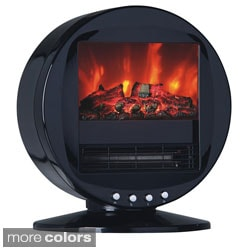Himalayan Circular 1500-Watt Electric Fireplace