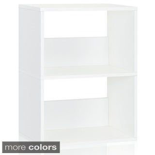 Way Basics Duplex Modern zBoard Bookcase