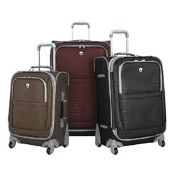 Olympia 'Galaxy' 3-piece Spinner Luggage Set