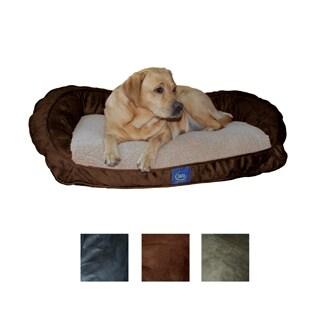 Serta PillowFill Bolster Pet Bed