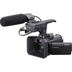 Sony 96GB HXR-NX30U Palm Size NXCAM HD Camcorder with Projector