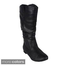 Reneeze 'ART-02' Women's Mid-calf Boots