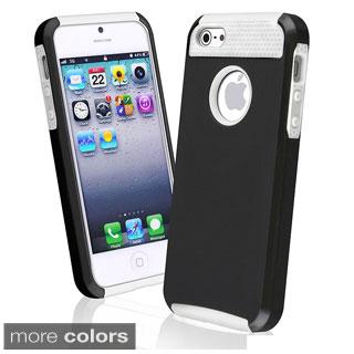 INSTEN Hard Plastic Hybrid Phone Case Cover for Apple iPhone 5/ 5S