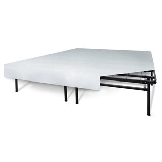 SwissLux 'I-Flex' Queen-size Foundation + Frame Mattress Support System