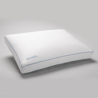 Splendorest IsoCool Side Sleeper Memory Foam Bed Pillow with Outlast Cover