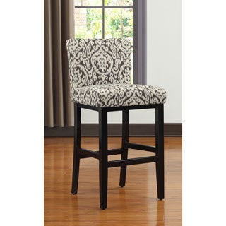 Portfolio Orion Ivory Medallion Upholstered 29-inch Bar Stool