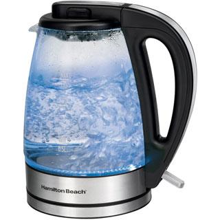 Hamilton Beach 1.7-liter Glass Cordless Electric Kettle