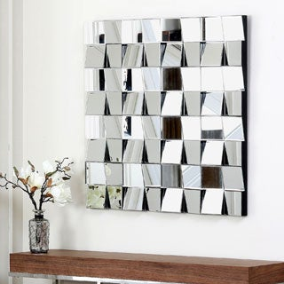 Abbyson Living Isabella Square Wall Mirror